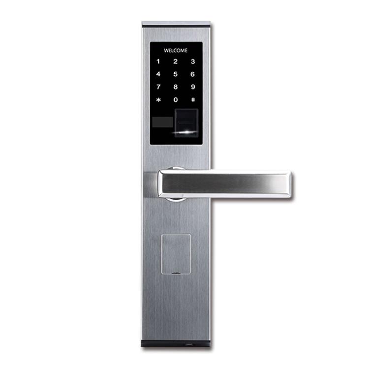 GLJ-5001新款指纹密码锁 防盗门锁