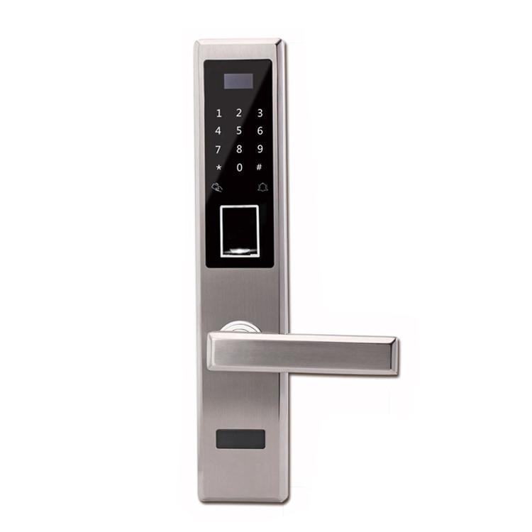 GLJ-5002新款指纹密码锁 防盗门锁