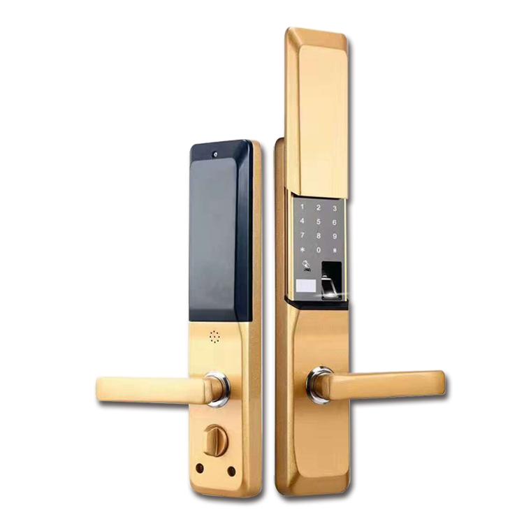 GLJ-8006智能感应指纹密码锁